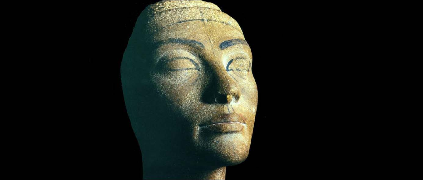 Unfinished Head of Nefertiti (Egyptian Museum, Cairo)