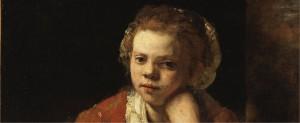 Rembrandt - The Kitchen Maid
