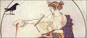 Apollo Pouring Libations (Acropolis Museum)