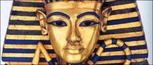 Tutankhamun - Second Coffin (Egyptian Museum, Cairo)