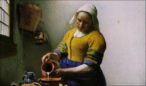 Vermeer (The Milkmaid)