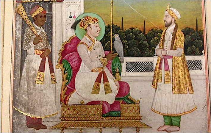 Jahangir Seated on His Throne