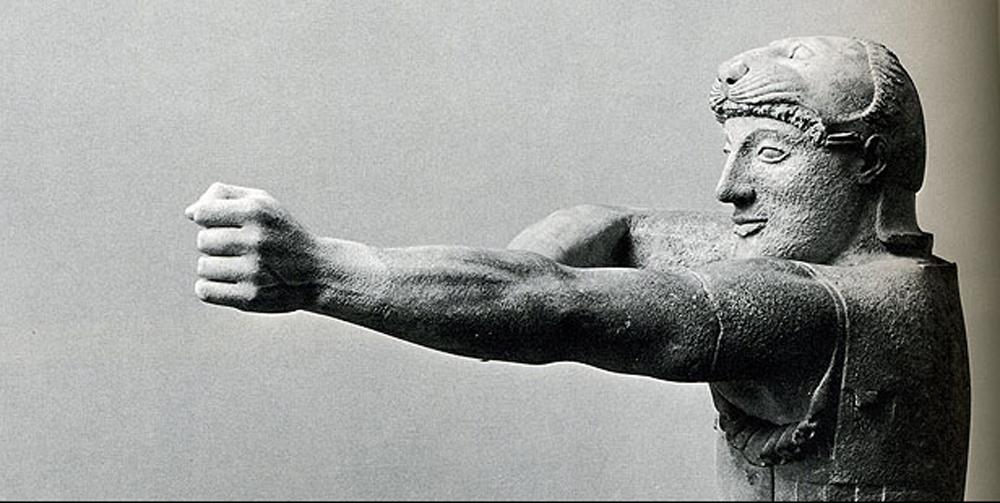 Ancient Greek Archer Aegina