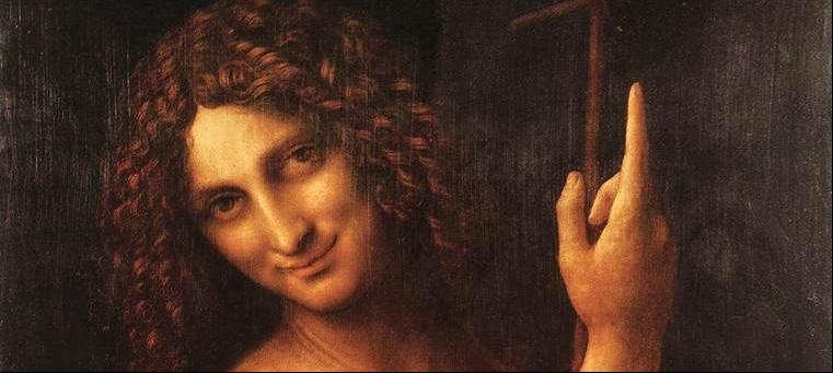 St John the Baptist, Leonardo da Vinci