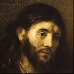Rembrandt - Head of Christ 1