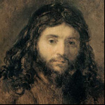 Rembrandt - Head of Christ 2