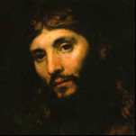 Rembrandt - Head of Christ 3