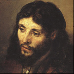 Rembrandt - Head of Christ 4
