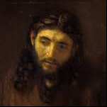 Rembrandt - Head of Christ 5