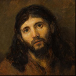 Rembrandt - Head of Christ 6