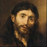 Rembrandt - Head of Christ 7
