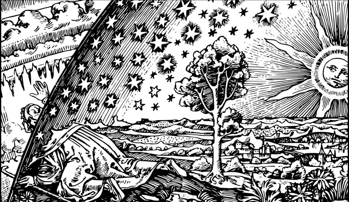 Flammarion Woodcut Detail